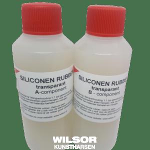 Siliconenrubber transparant