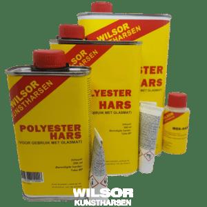 Polyesterhars