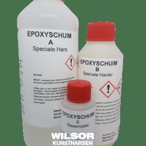 Epoxy schuim set