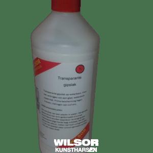 Wilsor transparante gipslak op waterbasis