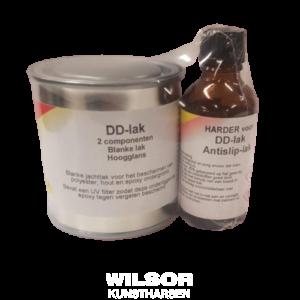 DD-Lak transparante coating met uv-blocker.
